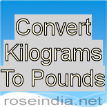 how to convert pounds to kilograms manually