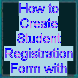 How TO - Sign Up Form