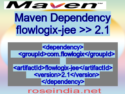 Maven dependency of flowlogix-jee version 2.1