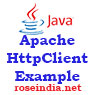 Apache HttpClient GET request example
