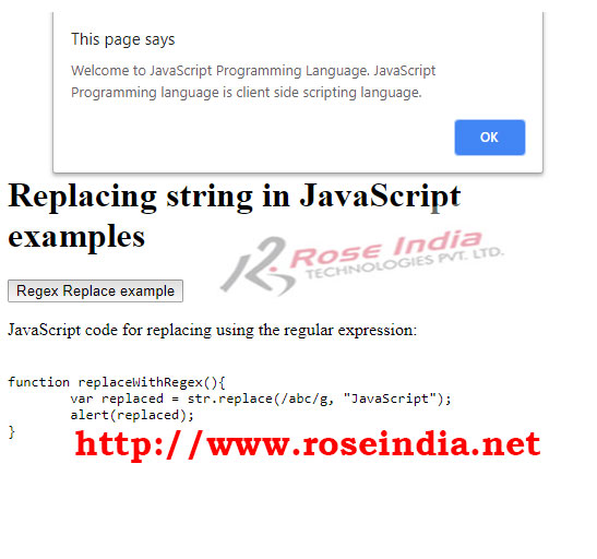 How to replace all occurrences of a string in JavaScript?