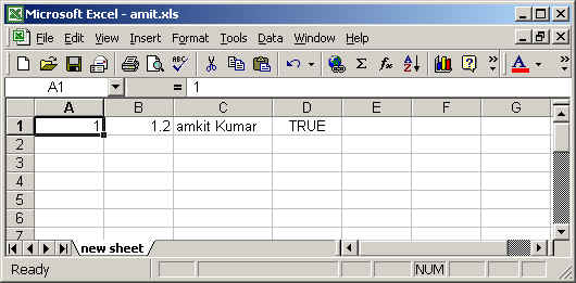 Create and Save Excel File in JSP