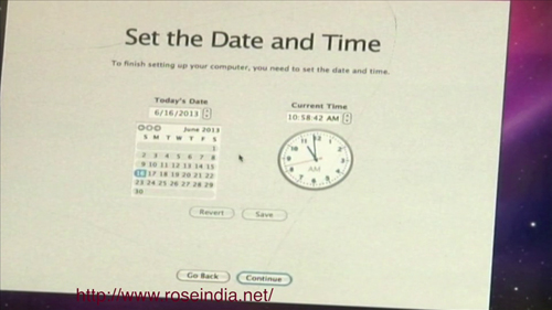 date & time zone
