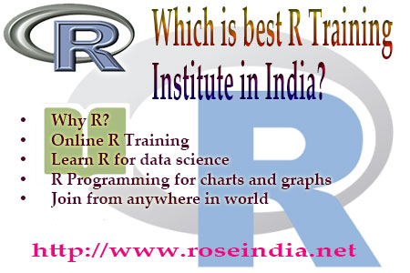 Which is best R Training Institute in India?