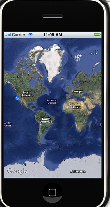 how to change current location on iphone