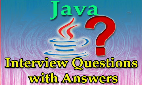 Java Interview Quetions