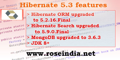 Hibernate 5.3 Features