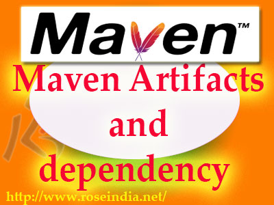 Maven Artifacts and dependency