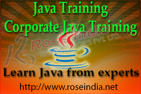 Java Corporate training